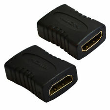 QUALITY HDMI EXTENDER FEMALE TO FEMALE F-F COUPLER ADAPTER CONNECTOR JOINER TV