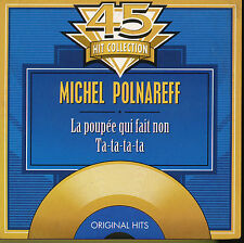 MICHEL POLNAREFF CD SINGLE BELGIQUE TA TA TA TA