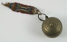 Antique Brass Betel/Lime Container from N.E. India.