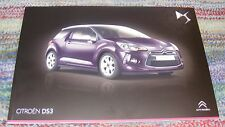 Citroen DS3 Brochure 2014