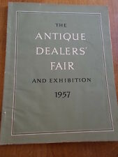 THE ANTIQUE DEALERS FAIR and EXHIBITION in the Great Hall Grosvenor House 1957