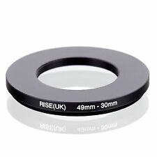 49mm-30mm 49mm to 30mm 49 - 30mm Step Down Ring Filter Adapter for Camera Lens