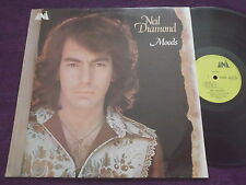 "NEIL DIAMOND  "" Moods ""  1972 UK LP  UNI  UNLS 128"