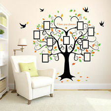 DIY Home Family Photo Tree Decal Large Wall Sticker Vinyl Art Decor Removable