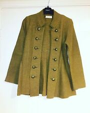 Gro A Live Size 8 Jacket Cardigan Green Brown