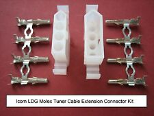 ICOM LDG Molex Heavy Duty Tuner Extension Connector Kit Automatic Antenna ATU