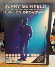 """JERRY SEINFELD LIVE ON BROADWAY DVD """"I'M TELLNG YOU FOR THE LAST TIME"""""""