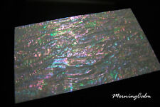 Prism Abalone Wide Coated Veneer Sheet (MOP Shell Overlay Inlay Papercraft)