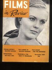 Films In Review November 1969 Clark Gable Bette Davis James Stewart  *MBX30