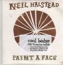(AZ729) Neil Halstead, Paint A Face - DJ CD