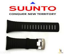 Suunto Core Standard Elastomer Original Black Rubber Watch Band Strap Kit