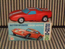 """MARX TOYS, BATTERY, """"TRICKEY ACTION SPORTS CAR""""  IN ORIGINAL BOX/FULLY WORKING!"""