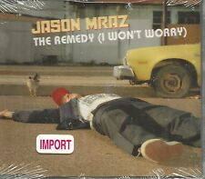 JASON MRAZ Remedy / Tonight RADIO EDIT & ACOUSTIC UK CD single SEALED USA Seller