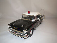 "Ertl/American Muscle  Chevrolet  Bel Air  (Police Chicago) ""1957"" 1:18 ohne Vp.!"