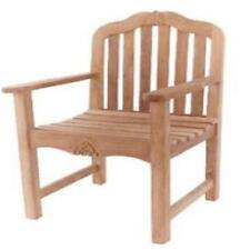 Balitique Carving Garden Teak Armchair