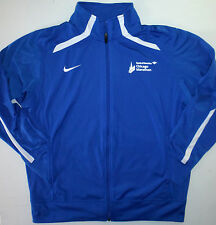 Mens M Nike Chicago Marathon Jacket Bank Of America American Airlines Blue Poly