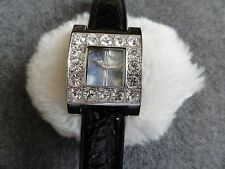 Terner Quartz Ladies Watch with a Black Band