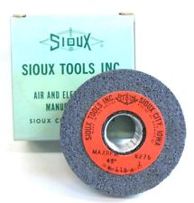 "SIOUX, VALVE SEAT GRINDING WHEEL, K-115-A-3, MAX RPM 8276, 3"" OD, 45 GRIT, ROUGH"