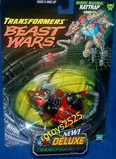 Transformers Beast Wars Transmetals RATTRAP NEW Orange Fox Kids Factory Sealed
