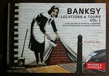 Bansky: Locations & Tours Vol. 1 by Martin Bull US Edition c2011 NEW Paperback