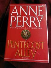 Anne Perry - PENTECOST ALLEY - 1st - Signed