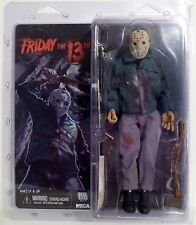 "JASON VOORHEES Friday the 13th Part III 3 Retro Clothed 8"" inch Figure Neca 2013"