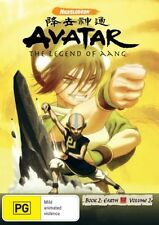 Avatar - The Last Airbender - Earth : Book 2 : Vol 2 (DVD, 2009) Unsealed