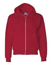 Champion Mens Size S-L XL 2XL 3XL XXL XXXL Full Zip-Up Hooded Hoodie Sweatshirt