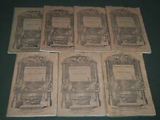 1840-1841 HUNT'S MERCHANTS MAGAZINE AND COMMERCIAL REVIEW LOT OF 7 - WR 340A