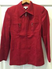 Bebe women's jacket Red Size 4 RCP