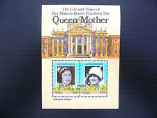 TUVALU Funafuti Wholesale 1985 Queen Mother M/Sheet x 100 U/M SALE PRICE FP1196