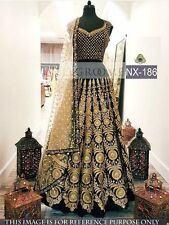 Indian Designer Bollywood Style Fancy work Banglori Silk Lehenga