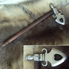 Native American Spontoon Style Pipe Axe - Historic Tool / Display Item