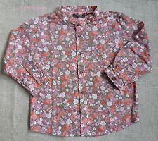 Boutchou*** Joli  Blouse/Tunique/chemise 3 ans/36mois  Motif Liberty Rose orange