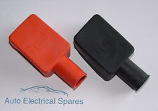 CLASSIC CAR battery terminal cover / insulation boot PAIR POSITIVE & NEGATIVE