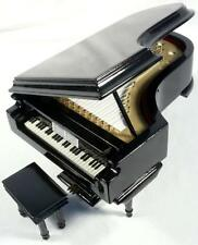 Wooden Grand Piano Music Box -SEE VIDEO!