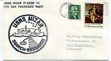 '70 Oakland  Usns Mizar San Francisco Search-Research  Polar Antarctic Cover
