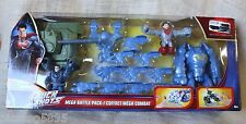 DC Comics Superman QUICK SHOTS Mega Battle Pack Figures Tank Superhero Tank
