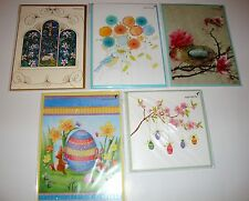 NEW PAPYRUS SEALED LOT OF 5 EASTER GREETING CARDS $28.75 VALUE