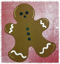 Ginger Bread Gingerbread Man Christmas Treat Die Cuts (Toppers)