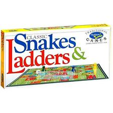 Snakes & Ladders The Classic Family Game Traditional Holdson's Games Series Fami
