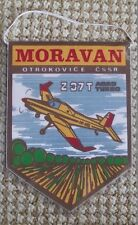 Moravan Zlin Z37 Bumble Bee Agricultural Farm Crop Sprayer Aircraft Pennant Flag
