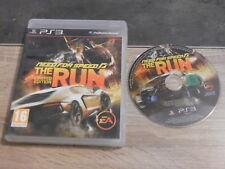 Jeu Sony PS3 : Need for speed – The run – Limited edition