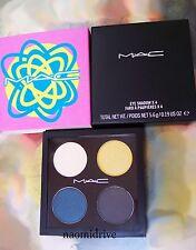 MAC COLOUR ADDED EYE SHADOW QUAD~ Shop Mac Collection ~ For All Seasons~ NIB ~
