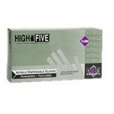 High Five N244 Latex & Powdered Industrial Nitrile Gloves - X-Large, 10 Boxes