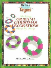 Making Origami Christmas Decorations Step by Step (History, Culture, a-ExLibrary