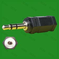 2.5mm Female Plug to 3.5mm Male Jack Stereo Audio Adaptor Converter Headphone