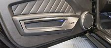 "Door Guards with Polished ""5.0"" 2010-2014 Ford Mustang ACC 271036"