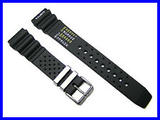 20mm Generic Rubber Watch Band Strap for Citizen Aqualand Promaster Duplex Diver