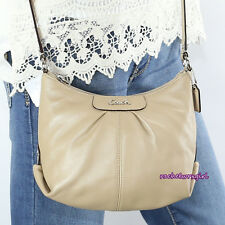 NWT Coach Ashley Leather Swingpack Crossbody Shoulder Bag Purse Z52167 NEW Khaki
